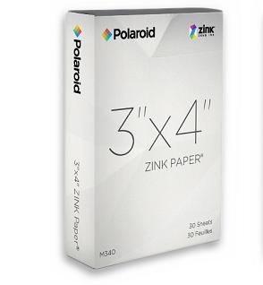 Polaroid Z340 Zink papir
